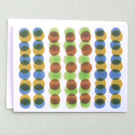 Dots Green & Brown