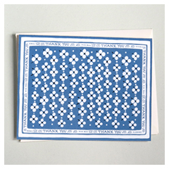Blue Bandana Card