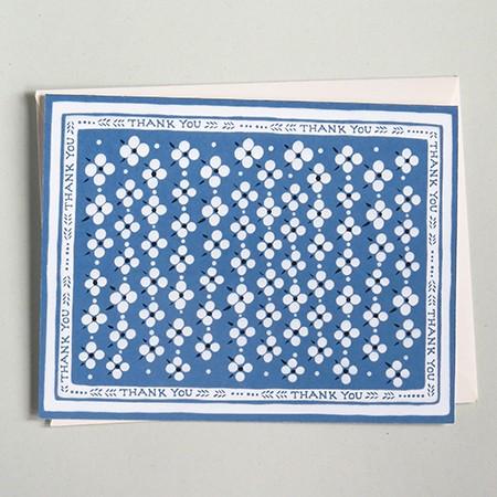 Blue Bandana Card