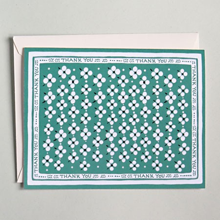 Green Bandana Card