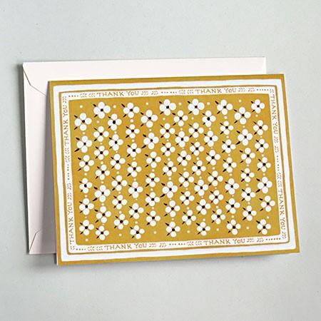 Mustard Bandana Card