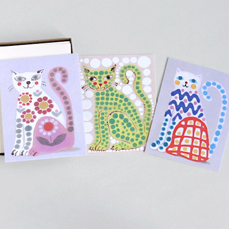 Cat Lover's Card Set