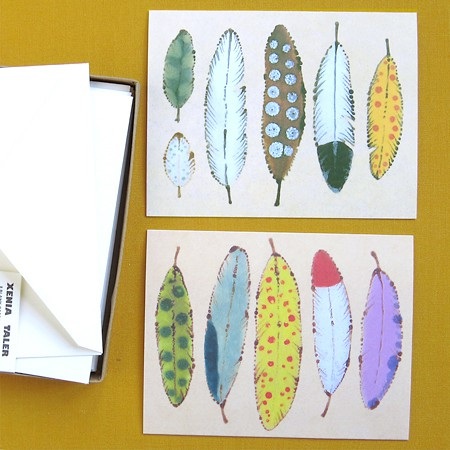 Feathers Card Set