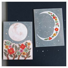 Moon Card Set