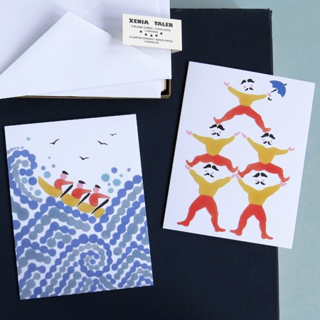 Acrobats & Sailors Card Set