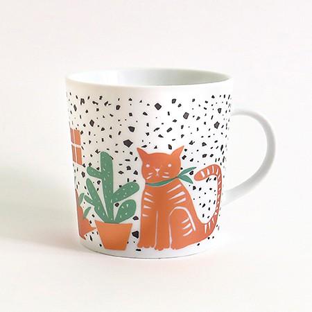 Cat Still Life Mug