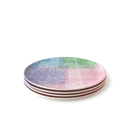 Chalk Side Plate - 4 set