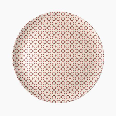 Circle Dinner Plate - 4 set