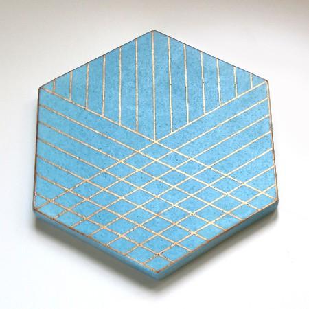 Fold Trivet - Blue