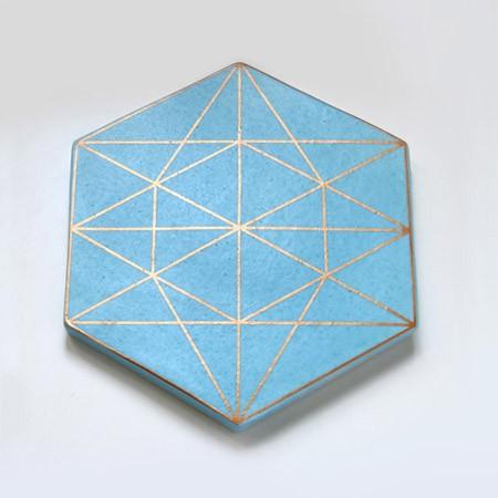 Prism Trivet - Blue