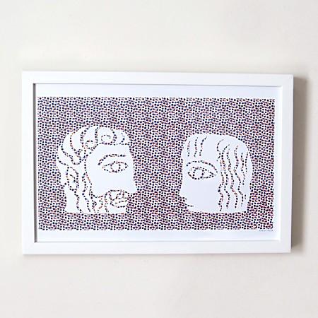Masculin/Féminin Risograph Print