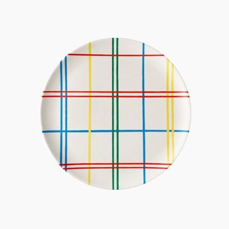 Plaid Side Plate - 4 set