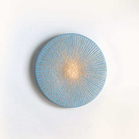 Starburst Trivet - Blue