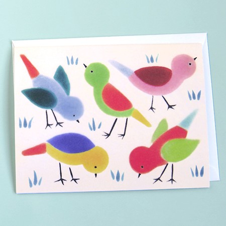 Birds & Grass