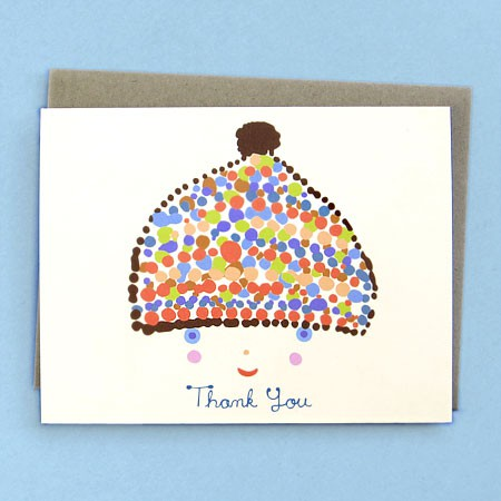 Boy Thank You Card