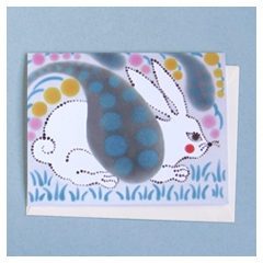 Country Rabbit Card