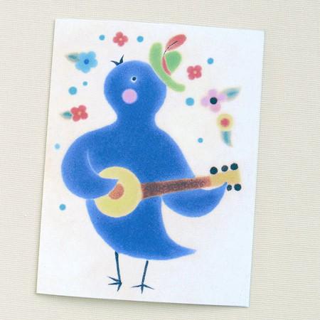 Banjo Chick Card