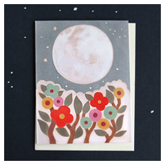 Full Moon Card