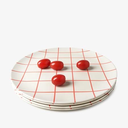 Schoolhouse Dinner Plate - 4 set