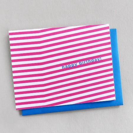 Birthday Stripe