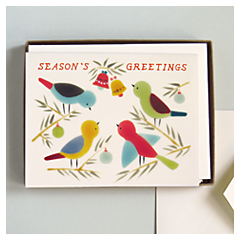 Birds & Bells Card